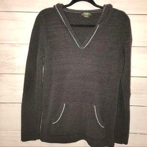 Eddie Bauer Soft Hooded Pullover Sweater